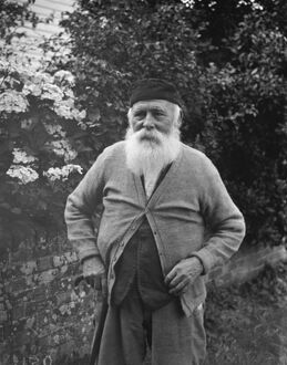 Mr Oliver Firrell, blacksmith of Matfield Green, Kent. <br> 1938