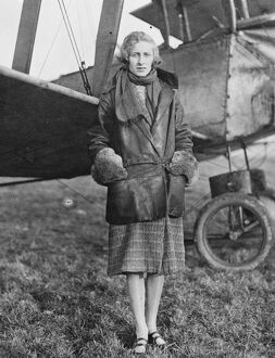 Mrs Ranald, the 19 year old girl who took her pilot ' s certificate with ease