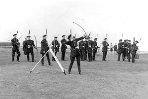 Mussleburgh, Scotland: Members of Royal Company of Archers for trophy the Mussleburgh
