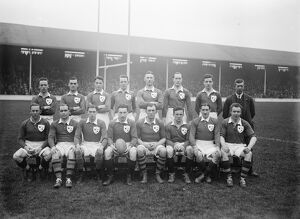 Five Nations Rugby at Leicester, 10 February 1923 England defeat Ireland 23