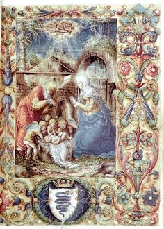 The Nativity. Book of Hours for Bona Sforza, Polish, 1527