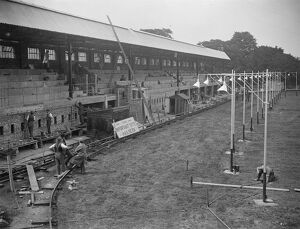 New Brixton greyhound track built in record time. When the new Brixton greyhound