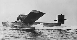 New flying boat with sails The beardmore-Rohrbach flying boat , represents an interesting