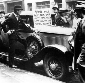 New York Stock Market Crash October 1929