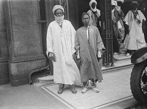 Nigerian Prince in London The Emir Katsina, one of the ruling Princes of Nigeria