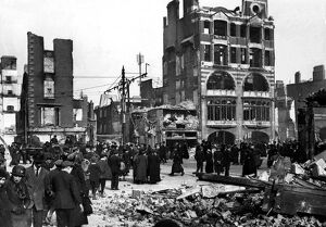 O'Connell Street, Dublin, after the Insurrection Easter Week 1916
