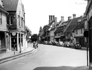 Old Houses in High Street, East Grinstead, Sussex
