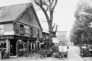The Old Oak Tree restaurant in Cobham, Surrey, England. c. 1910