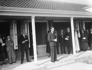 The opening of Margaret McMillan House by HRH Prince Albert, The Duke of York. The