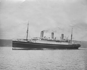 Originally SS Tirpitz she was later renamed the RMS Empress of Australia ocean liner