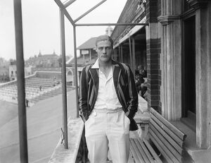 Oxford University cricketer. A M Crawley. June 1928
