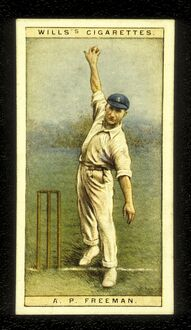 A P Freeman 'Tich' Freeman Kent and England Cricket 1928