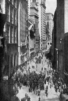 Panic of 1907 also known as the 1907 Bankers' Panic. The scene of Harriman's Great