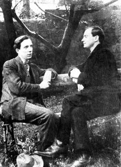Patrick Pearce (seen with his brother Willie) 1879-1916, Irish poet prominent in