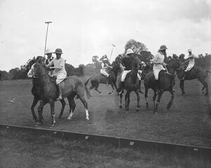 Polo at Ranelagh. The Prince of Wales and the Duke of York. 27 May 1924