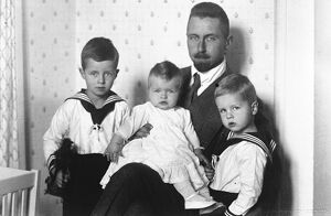 Only Popular Hohenzollern Prince Oskar of Prussia, who is known as ' Germany '