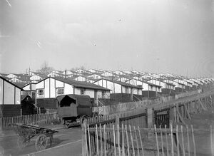 Prefabs at Eltham, London. 1933