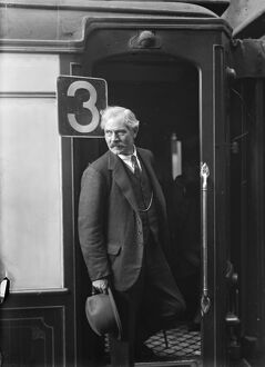 The Prime Minister leaves for Geneva. Mr Ramsay MacDonald left Victoria en route