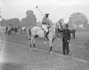 Ranelagh - British Army versus Federation Des Polos De France for the Verdun Cup