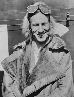 One of the most recent photographs of Wing Commander Kingsford Smith. 18 October 1930