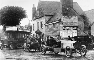 The Red Lion Hotel in Handcross, West Sussex, England. undated