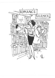 cartoons sax/romance book lovers library usually paying little