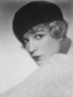 Ronald Colmans new partner. Mlle Lili Damita. 3 April 1928