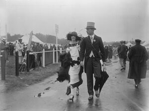 Royal Ascot, Berkshire United Kingdom Colonel and Mrs Mcgrath 13 June 1922