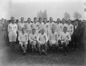 Rugby Match of the Season in the 1922 Five Nations Championship England versuse