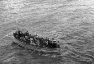 The saving of the 705: uncrowded life-boats of the 'Titanic'. Survivors aboard