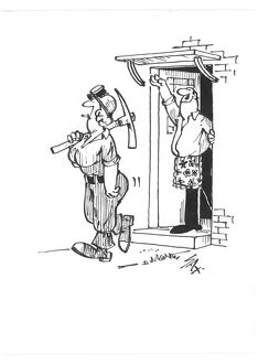 Sax Usually paying little or no attention to political correctness, Sax cartoons