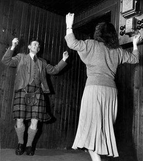 Scottish Country Dancing. Ian Gillies and partner dance / dancing / party season