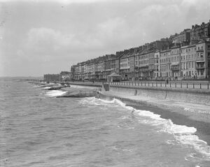 The seafront at St Leonards - on - Sea. 1925