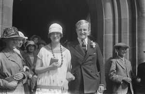 The ' shy ' Earl weds at Oxford The marriage between the Earl of Longford