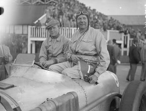 With Sir Malcolm Campell acting as starter, the first 500km race took place at Brooklands