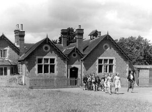 A small village school in the Weald of Kent 31st June 1953 was typical of many other