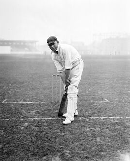 The South African cricket team at practice at Kennington Oval. Cec Dixon, ( Cecil