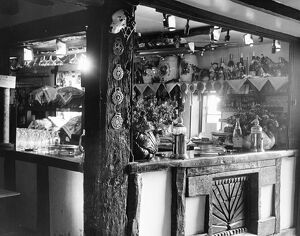The Spotted Dog public house. Smarts Hill, Penshurst, Kent, England 10 July 1963