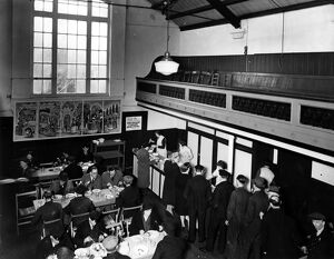 St Anne's Cash and Carry Kitchen at Vauxhall , London in the 1940s History of London