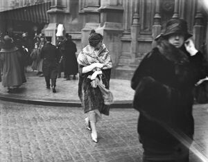 State opening of Parliament Peeresses leaving the Countess of Drogheda 10 February 1920