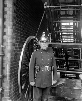 Sub - Officer Joseph Moore of the Vauxhall Fire Brigade , entered the premises above