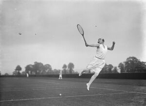 The Surbiton tennis tournament. Miss Violette Lermitte ' s graceful Lermitte