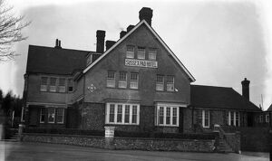 The Sussex Pad Hotel, Lancing, Sussex. 3 March 1931