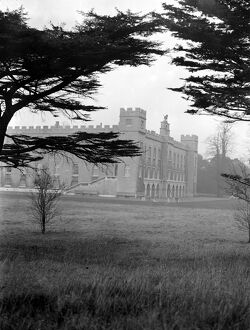 Syon Park, Brentford, seat of the Duke of Northumberland. 10 January 1930's