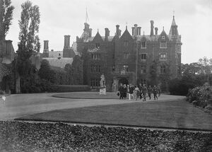 Taplow Court, Taken on visit of American officers near Berkshire 1919