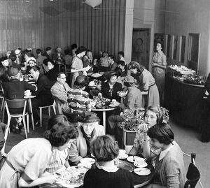 The Tea Centre off the Haymarket, London 1951