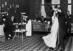 Tea dance 1914 dance / dancing / party season / celebration / happy vintage news archive
