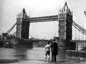 Tower Bridge, London 15th November 1946