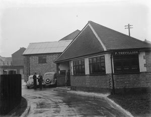 Trevillions Offices in Erith, London. 1936