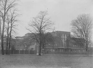 The ultra modern Royal Masonic Hospital at Ravenscourt Park, Hammersmith, London
